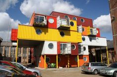 Shipping Container Homes May Ease Hong Kong's Housing Problems