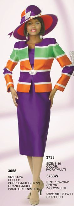 Check out the deal on Lily and Taylor 3058 Womens Color Block Suit at French Novelty