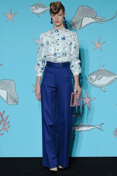 See the complete Olympia Le-Tan Spring 2014 Ready-to-Wear collection.