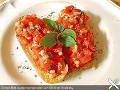 Bruschetta italiana, ein tolles Rezept aus der Kategorie Kalt. Bewertungen: 580. Durchschnitt: Ø 4,5.