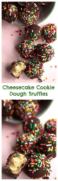 Cheesecake Cookie Dough Truffles | Grandbaby Cakes