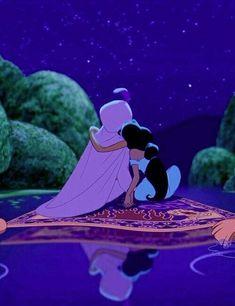 Aladdin movie by Walt Disney. Disney Pixar, Disney Animation, Disney Cartoons, Walt Disney, Disney Couples, Disney Films, Disney And Dreamworks, Disney Art, Disney Characters