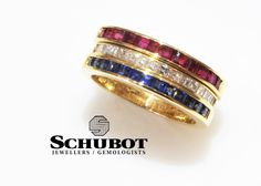 Ruby, Sapphire and Diamond bands.