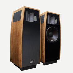 12″ AMT Series Speaker / Walnut (Pair) – ESS Labs., LLC