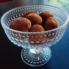 Choklad & Kaneltryffel | Tjockkocken low carb lchf