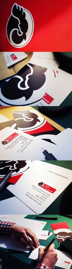 Self Branding - Corporate Identity by Colm O Connor, via Behance