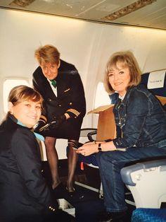 Da jeg var Jaguar stewardesse!