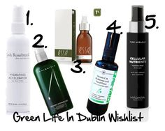 """""""Green Life In Dublin Toner And Mist Wishlist"""" by green-life-in-dublin on Polyvore featuring beauty"""