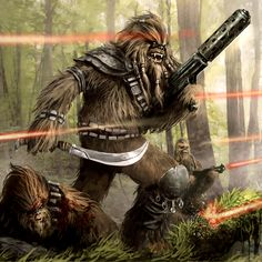 Wookies at war