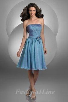 Bridesmaid dresses blue with fun skirt