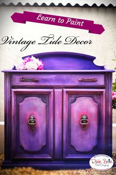 Learn how to paint furniture like the pros! Visit our website for tips and trick Distressed Furniture Furniture Learn Paint pros Tips Trick visit website Distressed Furniture, Hand Painted Furniture, Funky Furniture, Refurbished Furniture, Colorful Furniture, Paint Furniture, Repurposed Furniture, Shabby Chic Furniture, Furniture Makeover