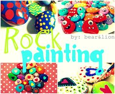 rock collage-001 by bear & lion mama, via Flickr