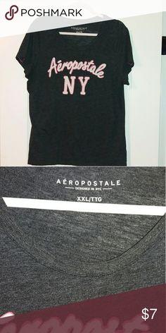 Xxl aeropostale top Dark gray xxl top cut no holes or stains. Aeropostale Tops