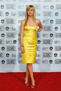 Reese Witherspoon in Oliver Theyskens, Golden Globes 2007
