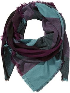 EUR 11,63  'PIECES Damen Tuch MAYLIESHA SCARF, Kariert, Gr. One size, Violett (Potent Purple 19-2520 TCX) PIECES http://www.amazon.de/dp/B00KR94VUY/ref=cm_sw_r_pi_dp_0qkFub0V2ECJ9