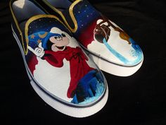Sorcerer Mickey shoes!!! by RyTee on Etsy. $125.00 USD