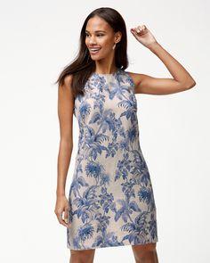 5fff1d6affa Wild Paradise Linen Shift Dress Shift Dress Outfit