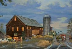 Golden Harvest Artist Dave Barnhouse