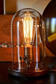 industrial lamp table - Google Search