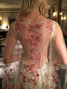 Maple wedding dress and tunic by Claire Pettibone The Four Seasons couture collection