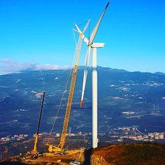 Ultrans Vinç ekbinin 2018'deki ilk operasyonu #ultrans #gerenewableenergy #ge #fina #res #renewableenergy #liebherr #lr1600 #ltm1200 #majoroperations #gwo
