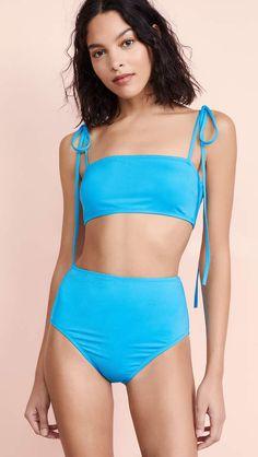 1b70f18821a38 Proenza Schouler Bandeau Bikini Set Proenza Schouler