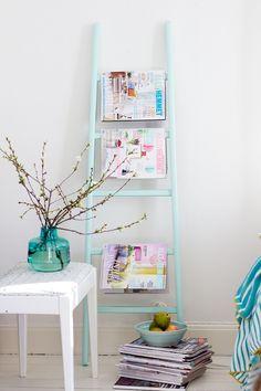 15 muy buenas ideas para organizar tus revistas