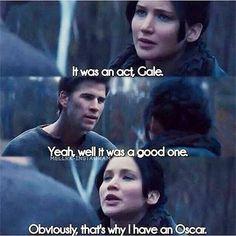 Katniss & Gale Funny Oscar Meme
