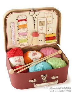 genius gift for a knitter/crocheter