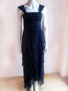 ef20ba4e291 Elegantes schwarzes Abendkleid Abiball Abschlussfeier Kleid Vera Mont 34 XS   damen  kleider  trend  freu  mode