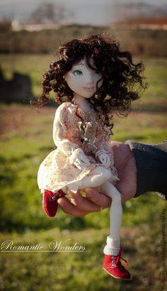 Muñecas de colección hechos a mano.  Masters - Feria artesanal Lin.  Hecho a mano.