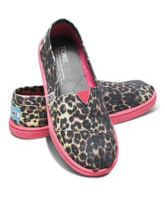 Look what I found on #zulily! Leopard Vegan Classics - Youth #zulilyfinds...Liberty would freak!!