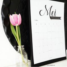 bij deb: Maand kalender Mei 2017