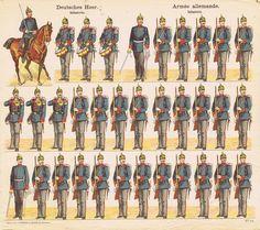 SOLDATINI DI CARTA RECORTABLE ALEMÁN DE J.F.SCHREIBER ca.1905 | Juguetes, Juguetes antiguos, Guerreros | eBay!