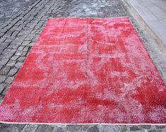 turkish rug oushak rug vintage rug turkey rug by turkishrugstar Large Rugs, Small Rugs, Kilim Runner, Types Of Rugs, Traditional Rugs, Entry Rug, Pink Rug, Rugs In Living Room, Vintage Rugs