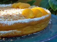 Pastel libanes de almendra y naranja
