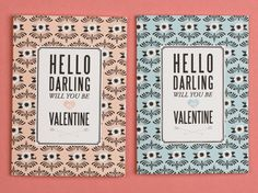 7 Free printable Valentines cards more sophisticated than ones for little kids.