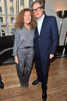 Bill Nighy and Nicole Farhi