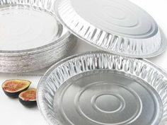 """10"""""""" Aluminum Foil Pie Pan - Medium Depth #1041"""