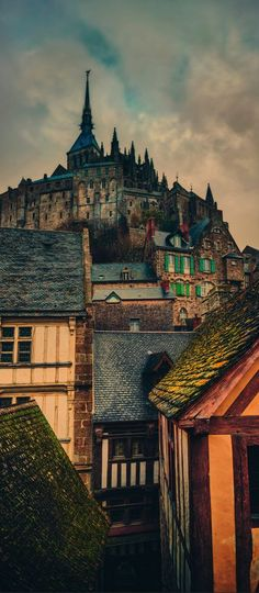 Mont Saint Michel, Normandy, France....want to visit in honor of mom, who wanted to see it, but never did