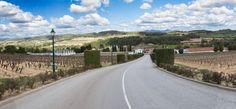 Segura Viudas Winery and Vineyard; its a panorama shot - best viewed I guess on my blog!