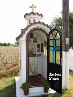 Orthodox roadside chapel