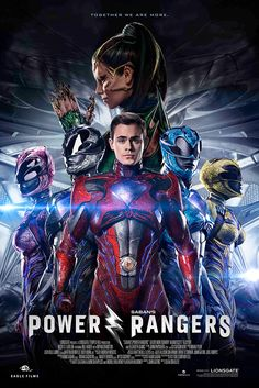 Lionsgate has unleashed several new posters for Power Rangers which shows each teenager running with their Zord. Power Rangers Dvd, Power Rangers Reboot, Power Rangers Movie 2017, Red Ranger 2017, Movie Showtimes, New Poster, Future Husband, Poster Prints, Cinema