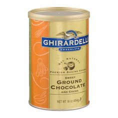 I'm learning all about Ghirardelli Ground Chocolate Premium Baking Cocoa at @Influenster!