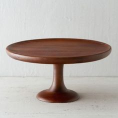 Acacia Cake Stand in Entertaining DINING + SERVING Serving Pieces at Terrain