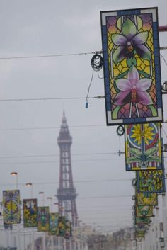 Blackpool Blackpool Pleasure Beach, St Anne, Amusement Park, Manchester, Past, Nostalgia, Presents, Memories, Painting