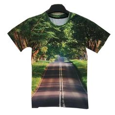 Forest Green Road T Shirt