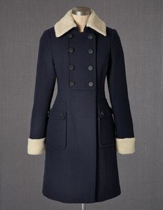 I've spotted this @BodenClothing Heritage Coat Navy