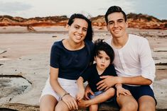 Family Photography Session in Broome, Western Australia