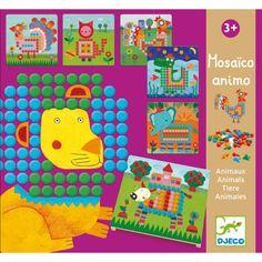 Djeco Mosaico Animo Steckpiel für Kinder ab 3 Jahren - auf Rechnung bestellen, Bonuspunkte sammeln, DHL Blitzlieferung!